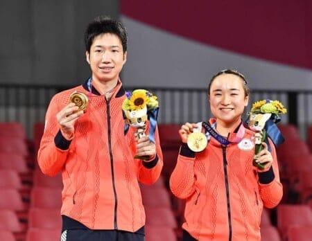 伊藤美誠,卓球,女子,東京オリンピック,金メダル,指輪,リング